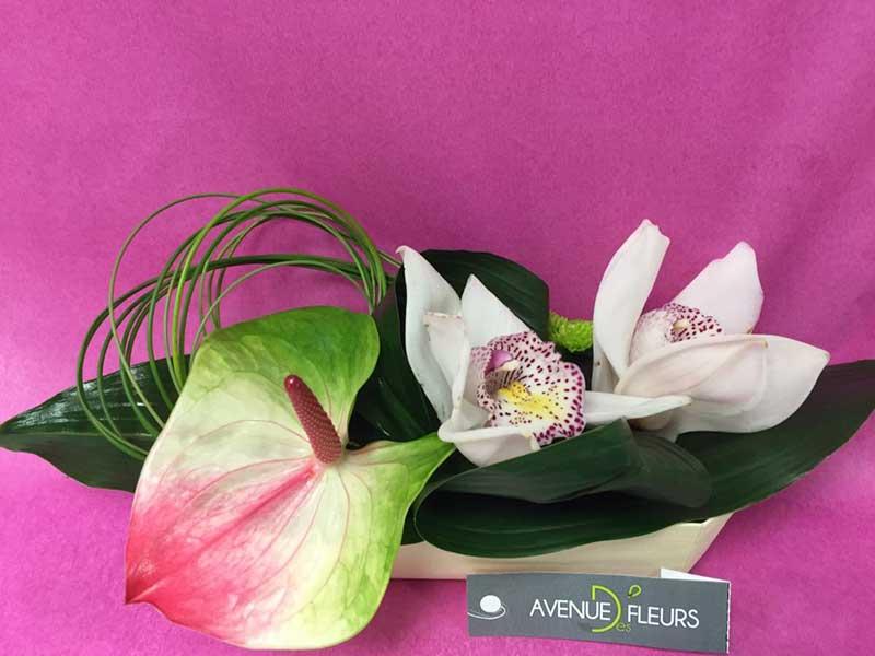 Avenue Des Fleurs Fleuriste De Nouvelles Villes A87